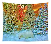 A Polar Bear Christmas 2 Tapestry