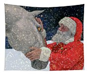 A Present For Santa Tapestry