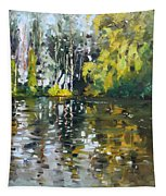 A Quiet Afternoon Reflection Tapestry
