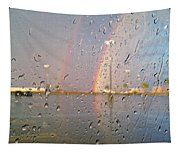 A Rainbow In My World #3 Tapestry