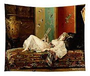 A Reclining Odalisque Tapestry