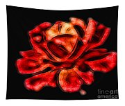 A Red Rose For You 2 Tapestry