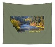 A River Runs Thru Autumn Tapestry