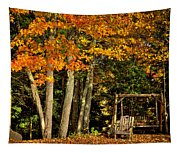 A Romantic Autumn Spot In Inlet Tapestry