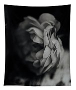 A Rose In Black And White Tapestry