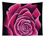 A Rose In Time Tapestry
