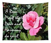 A Rose Is Proof Tapestry