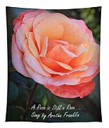 A Rose Is Still A Rose Tapestry