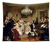 A Schubert Evening In A Vienna Salon Tapestry