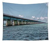 A Section Of The Original Seven Mile Bridge Tapestry