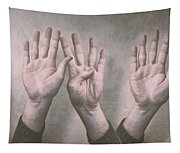 A Show Of Hands Day 197 Tapestry