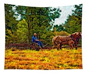 A Simpler Time Impasto Tapestry