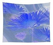 A Slanting Blue Wind  Tapestry