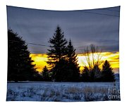 A Sleepy Morning Sunrise Tapestry