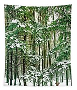 A Snowy Day Tapestry