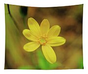 A Soft Yellow Flower  Tapestry
