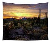 A Southern Arizona Sunset  Tapestry