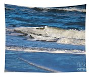 A Splash In The Surf Tapestry
