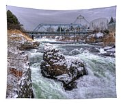 A Spokane Falls Winter Tapestry