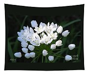 A Spray Of Wild Onions Tapestry