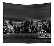 A Spring Day On Old Forge Pond Tapestry