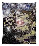 A Stary Night Galaxy Tapestry