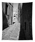 A Street In Sicily Tapestry