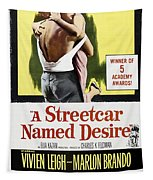A Streetcar Named Desire Portrait Poster Tapestry