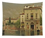 A Sultry Day In Venice Tapestry