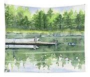 A Summer Pond Tapestry