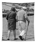A Sunday Stroll In The Country Tapestry