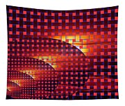 A Sunset In Weave Tapestry