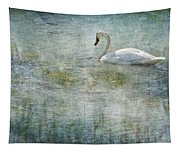 A Swan's Reverie Tapestry
