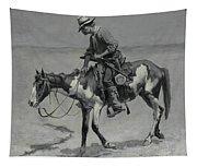 A Texas Pony Tapestry