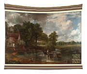 A Tribute To John Constable Catus 1 No.1 - The Hay Wain L A  With Alt. Decorative Ornate Printed Fr  Tapestry