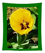A Tulip Embracing Sunshine Tapestry