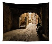 A Very Italian Courtyard Tapestry