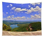A View From Table Rock South Carolina Tapestry