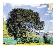 A View Of Lake Brienz From Bodeli Tapestry