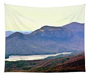 A View Of Table Rock South Carolina Tapestry