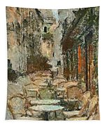 A View On The Sacre Coeur Tapestry