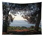 A View To The Sea Tapestry