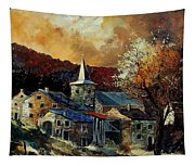 A Village In Autumn Tapestry