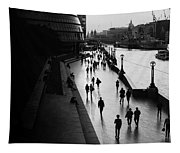 A Walk Along The Thames Tapestry