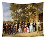 A Wedding At The Coeur Volant Tapestry