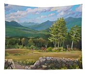 A  White Mountain View Tapestry