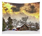 A Winter Sky Tapestry