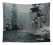 A Winter Waterland Tapestry