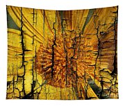 A Woody Texture Tapestry