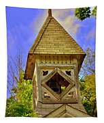 Abandoned Church Steeple Tapestry